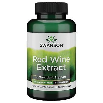 Swanson Red Wine Extract 500 mg 90 Capsules