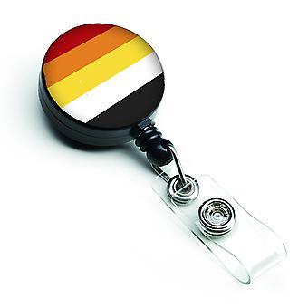 Carolines Treasures  CK8004BR Lithsexual Pride Retractable Badge Reel