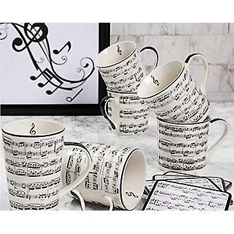 Making Music Mugs Set 4 By Lesser & Pavey