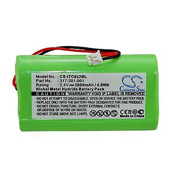 Cameron Sino Itc622Bl Battery Replacement For Intermec Barcode Scanner