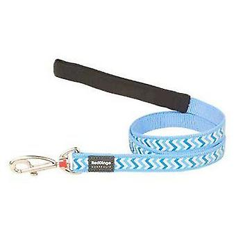 Red Dingo Ziggy Reflective Strap Blue (Dogs , Collars, Leads and Harnesses , Leads)