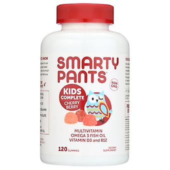 SmartyPants Kids Complete Cherry Berry Gummy Vitamins, 120 Count