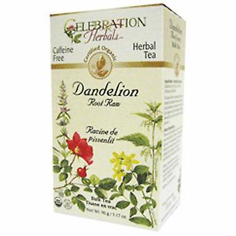 Celebration Herbals Organic Dandelion Root Raw, 65 Grams