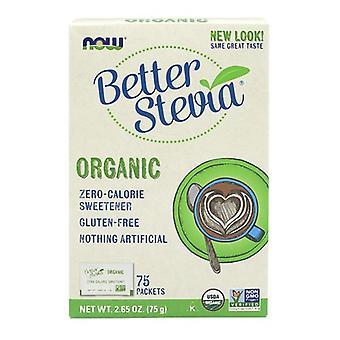 Nyt Foods Organic Stevia -paketit, 75 pakettia