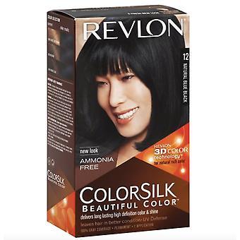 Revlon ColorSilk Hiusväri Pehmeä Musta-12