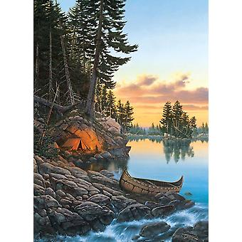Cobble Hill Evening Glow Jigsaw Puzzle (1000 Pieces)