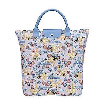 أكياس التسوق رافعة اليابانية foldaway | نسيج حقيبة حمل قابلة للطي | fdaw رافعة