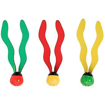 UnterwasserSchwimmen / Tauchen Pool Spielzeug Versenken Fun Bälle (3 Pack) - Multi Farbe