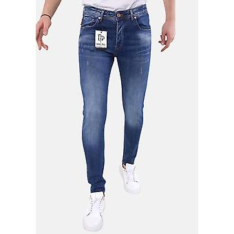 Neat Jeans With Stretch - 5304 - Blue