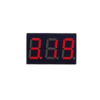 0,36 Zoll DC LED digital Voltmeter 0-100v Spannungsmesser Auto Auto mobile Leistung Spannung Tester Detektor 12v rot grün blau gelb