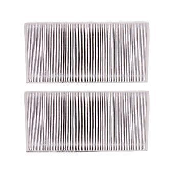 Ilmanpuhdistimen suodattimet 2 kpl ilmansuodattimen lisävarusteita 25.3x12.5x3.5cm valkoinen vaihto febreze