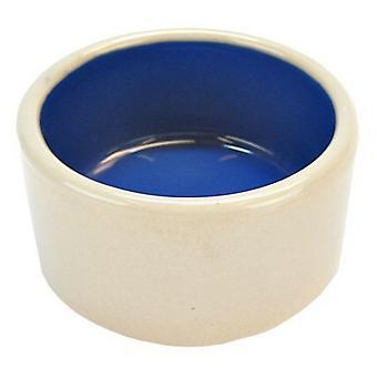 "Spot Ceramic Crock Small Animal Dish - 3"" Diameter"