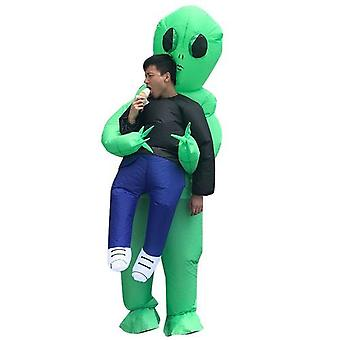 Party Jumpsuit Costumes Inflatable Carnival Adult Alien Cosplay