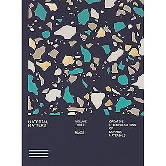 Material Matters 03: Stone:a� Creative interpretations ofa� common materials