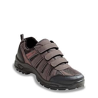 Chums Shoes Wide Fit Walking Touch Fasten