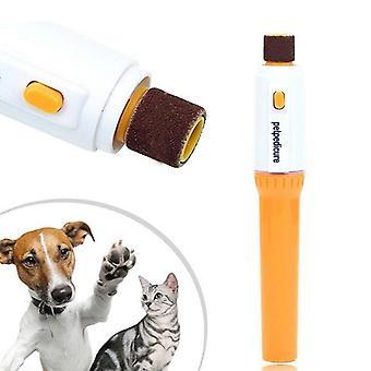 Elektrické Pet Pedicure Nail Trimmer Nail Clippers Dog Grooming Strojové potřeby