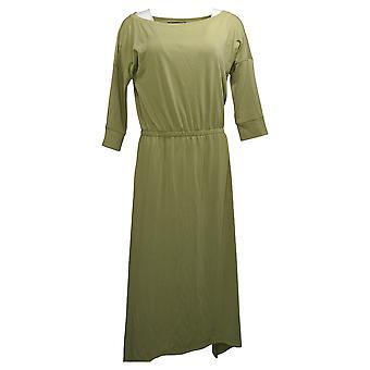 Brittany Humble Dress B.E. Ready Dolman Sleeve Midi Green 753827