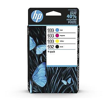 Toner inkjet cartridges 932 black/933 cyan/magenta/yellow 4-pack original inks