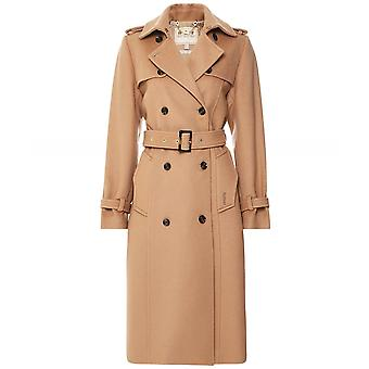 Barbour Melrose Wool Trench Coat