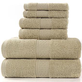 Setel Set Touch Bath Collection - Set Of 6 Towels Towels 100% Cotton 950g / M, 2 Bath Towels + 2 Portrons