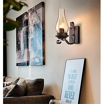 Black Wall Lamp Industrial Wall Lamp Vintage Lighting Retro Wall Lamp  ( Bulbs Not Included)