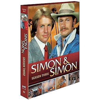 Simon & Simon: Sesong tre [DVD] USA import