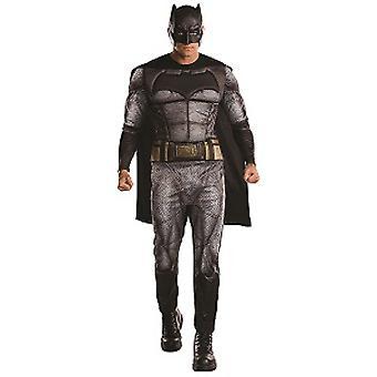Batman Superhelden Kostüm  aus dem Film Dawn of Justice Fledermaus Erwachsenen Kostüm