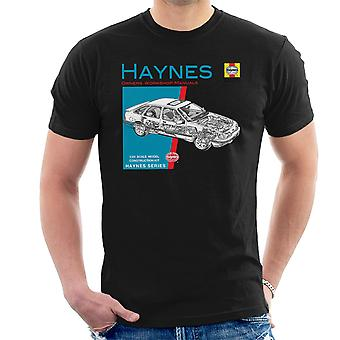 Haynes Owners Workshop Manual 0904 Ford Sierra V6 4X4 Men's T-Shirt