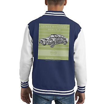Varsity Jacket de Haynes atelier manuel 0303 Skoda 110R Stripe Kid