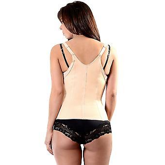 Esbelt ES431 Women's Nude Firma/Orta Kontrol Zayıflama Şekillendirme Camisole Top