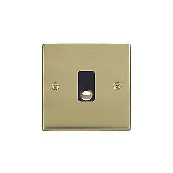Hamilton Litestat Cheriton Victorian Polished Brass 20A Cable Outlet BL