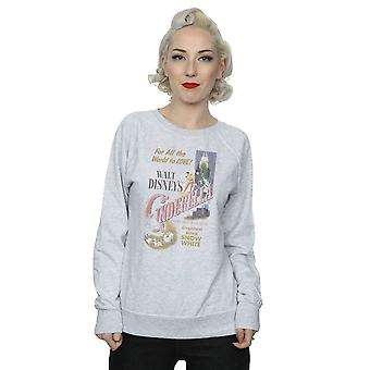 Disney prinsesse kvinders Askepot Retro plakat Sweatshirt