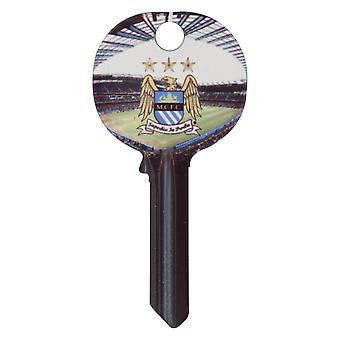 Manchester City FC offisielle fotball Crest nøkkel tom