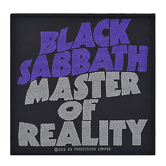 Black Sabbath Master Of Reality Woven Patch