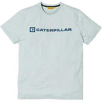 Caterpillar Mens Block Caterpillar Logo Short Sleeve T-Shirt