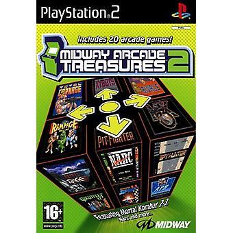 Midway Arcade Treasures 2 (PS2) - Uusi tehdas sinetöity