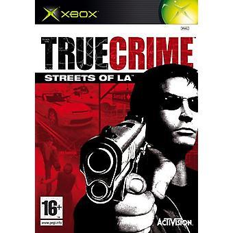 True Crime Streets of LA (Xbox) - Nouveau