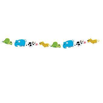 Colar animal Coquette de crianças animais de aniversário festa festa animal 3M