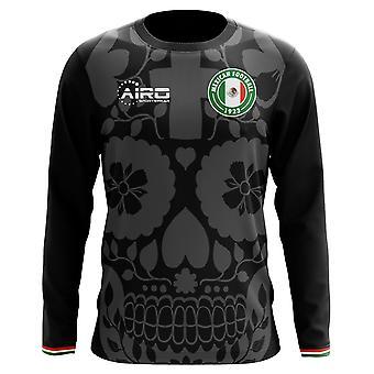 2020-2021 Mexico Long Sleeve Derde Concept Voetbalshirt (Kids)