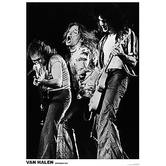 Van Halen Rotterdam Rotterdam 1979 Poster Poster Print