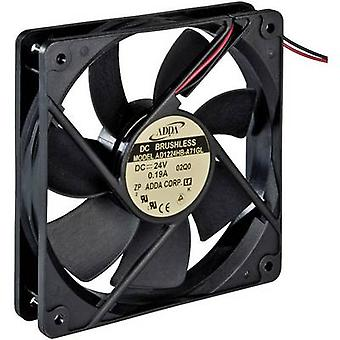 ADDA AD1224HB-A71GL Kixial fan 24 V DC 149,4 m³/h (L x W x H) 120 x 120 x 25 mm