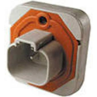 TE Connectivity DT15-4P Bullet connector Plug, straight Series (connectors): DT Total number of pins: 4 1 pc(s)
