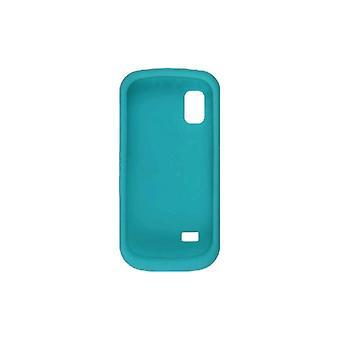 Samsung SGH-A887 Silicone Gel Aqua