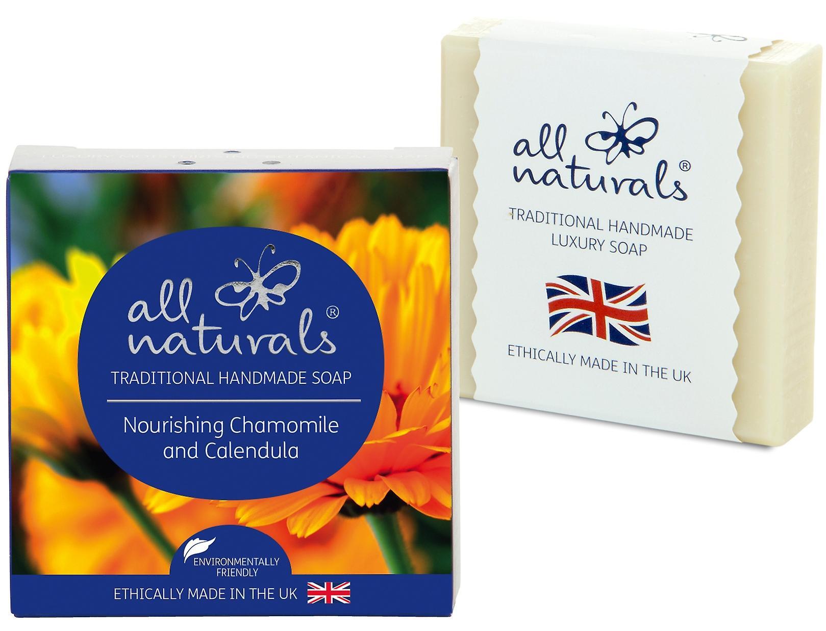 All Naturals Organic Soap Bar Chamomile and Calendula 100g