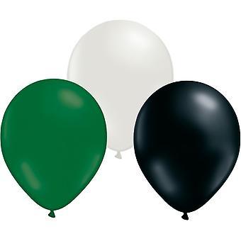 Balloons Mix 24-pack green/white/Black