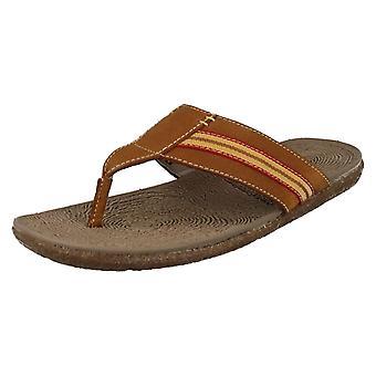 Mens Hush Puppies Summer Sandals Frame Toe Post
