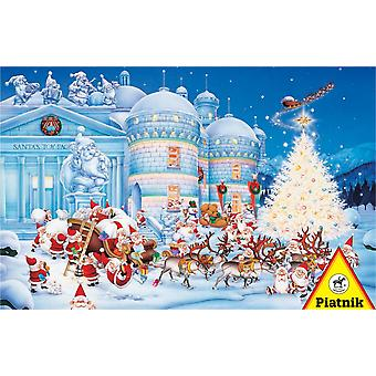 Piatnik Toy Factory Christmas Jigsaw Puzzle (1000 Pieces)
