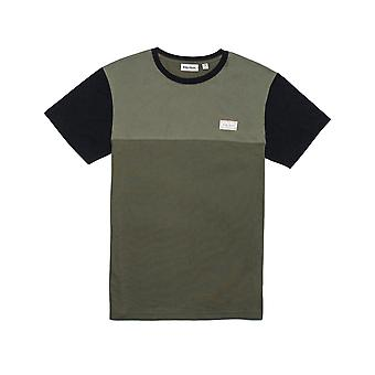 Rhythm Commune Short Sleeve T-Shirt in Olive