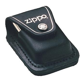 ZIPPO BLACK LIGHTER POUCH WITH LOOP LIGHTER