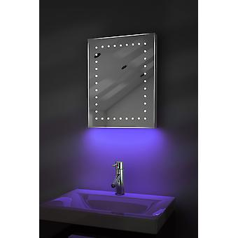 Ambient Shaver LED Bathroom Mirror With Demister Pad & Sensor K163T
